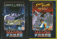 ANIME DVD BUNDLE -Street Fighter Alpha - The Movie and Ghost In The Shell