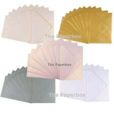 C7 Fleck Kraft Envelopes by Cranberry Assorted Pack Sizes