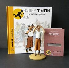 "LARGE 5"" TINTIN FIGURINE ""OFFICIAL COLLECTION"" #M77 TINTIN SCRUTE LE DÉSERT"
