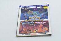 Official Nintendo Power Pokemon Mystery Dungeon Player's Guide -FREE SHIP