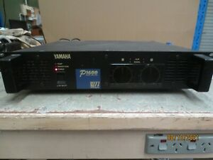 Yamaha P1600 dual channel amplifier 240V 230W (m10)