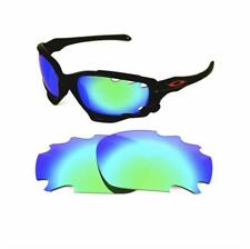 NEW POLARIZED GREEN REPLACEMENT LENS FOR OAKLEY JAWBONE RACING JACKET SUNGLASSES