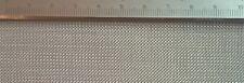 Edelstahl Drahtgewebe mit 0,5mm Maschenweite, 0,2mm Drahtstärke, 30cm x 20cm