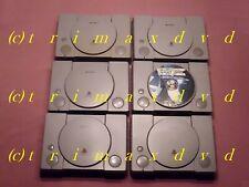 6 Playstation-Konsolen Bastler  PS1 PSOne _ DEFEKT für Bastler