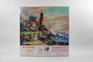 """Evening Light By James Lee 1000pcs. Puzzle 20""""×27"""" Sealed"""