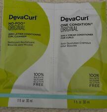DevaCurl-No-Poo-Original Zero Lather Cleanser 30ml + One-Condition-Original 30ml