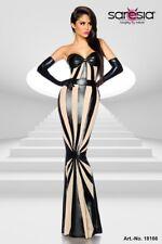 SARESIA Wetlook-Kleid von Saresia Kleid, zwei verstellbare Träger