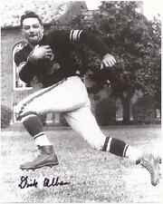 """Dick Alban Autographed Redskins / Steelers 8"""" x 10"""" Photo w/COA Certification."""