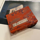 Chinese Calligraphy Painting tool Holder Case red