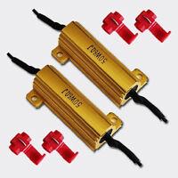 50W 6Ohm Car Kit LED Load Resistors For LED Turn Signal Lights Decoders Sets New