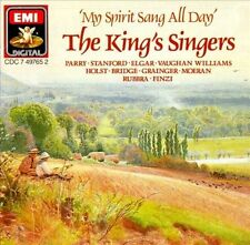 My Spirit Sang All Day by King's Singers (CD, May-1988, EMI) W. Germany EXC