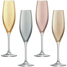 LSA Pois Champagne Flute-METALLICA Assortimento-Set di 4