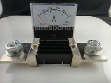 Analog Amp Panel Meter Current Ammeter DH-670 DC 0-500A 500A + Shunt