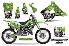 KAWASAKI KX 125/250 Graphic Kit AMR Racing # Plates Decal Sticker Part 94-98 CSG