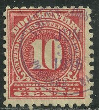 U.S. Revenue Documentary stamp scott r201 or r212 - 10 cent issue of 1914