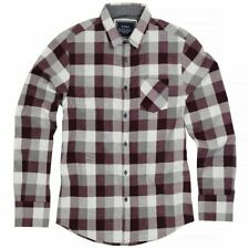 Persuader Long Sleeve check shirt wine