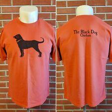 The Black Dog Chatham Short Sleeve Crewneck Cotton T Shirt Mens Adult Medium EUC
