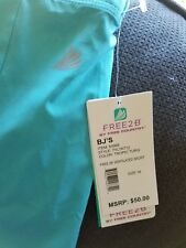 NWT - Free2B by Free Country Turquoise Ventilated Skort - M