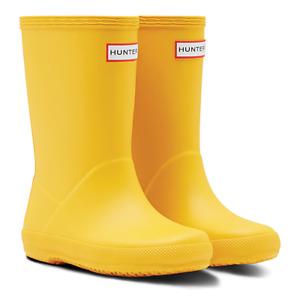 Hunter Yellow Kids Wellies First Classic Wellington Boots