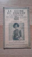 El Guía de La Concierto Y Las Teatro Letra - Audrey Cook - N º 14-1928