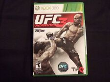Replacement Case (NO GAME) UFC UNDISPUTED 3  XBOX 360