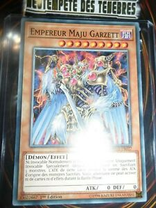 YU-GI-OH! EMPEREUR MAJU GARZETT SHORT PRINT DANE-FR027 EDITION 1 FRANCAIS