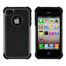 Housses et coques anti-chocs simples Pour iPhone 4 pour téléphone mobile et assistant personnel (PDA) Apple