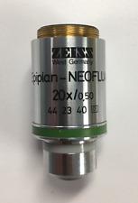 Zeiss Epiplan-NEOFLUAR 20x / 0.50 Microscope Objective (part # 44 23 40)