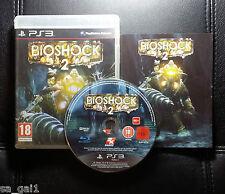 BioShock 2 Bio Shock 2 (Sony PlayStation 3, 2010) PS3 - FREE POST