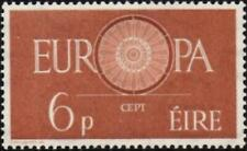 Ireland 1960  Europa  6d Light Brown   SG.182  Mint (Very Lightly Hinged)