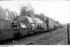 Russian Soviet Military Armoured Train 1942 World War 2 Reprint Photo 6x4 Inch