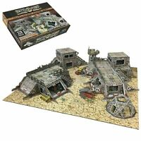 Battle Systems Scifi Terrain Outlands Core Set - Modular Card 40k Necromunda THG