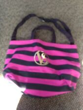 Victoria's Secret Large Tote Bag Black Pink gold nwot