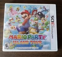 Mario Party: Island Tour (Nintendo 3DS, 2013) Case Only! ~Authentic~ No Game!