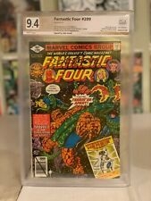 Fantastic Four #209! 1st Byrne on FF! PGX (Not CGC SS) 9.4! Signed by Byrne!
