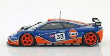 Solido 1/18 1996 McLaren F1 GTR Short Tail 24 HR Le Mans Bellm Lehto Weaver #3