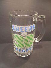 "New listing 15 oz. Glass Beer Tankard Mug Birthday ""Cheers To 30 Years!"" Gag Gift"