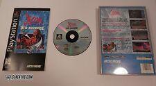 X-COM UFO Defense (Sony PlayStation 1 1995) COMPLETE PS1 LONGBOX Black Label