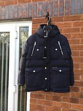 DSQUARED2 JUNIOR BOYS NAVY BLUE DOWN PUFFER JACKET D21J130U  AGE 10Y RRP £360