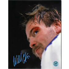 Wendel Clark Toronto Maple Leafs Bloody Warrior Autographed 8×10 Photo