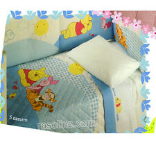 Lenzuola Lettino Winnie The Pooh Sweet Azzurro Caleffi