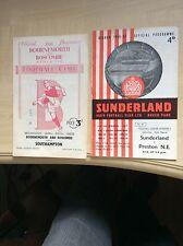 56/57 Sunderland V Preston North End