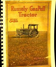 Vintage  Rumely Gaspull Tractor Salres  Catalogue  -15  h.,p. -  30 brake  H.P.