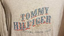 TOMMY HILFIGER Man's Long Sleeve Top Size: XL GOOD Condition