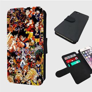 ANIME COLLAGE ART STUDIO GOKU - Flip Phone Case Cover - Fits Iphone / Samsung