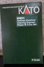Kato 106-6286 Amfleet, Viewliner Intercity Express Phase VI 3-car Box Set