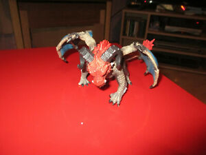 Schleich Dragon Battering Ram Figure with Movable Wings, Horns.