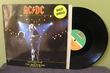 "AC/DC ""Let's Get It Up"" 12"" Live Back In Black TNT (Dutch) EX"
