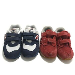 New Balance infant Shoes Athletic Sneakers Red blue Size 6 Shoes preowned lot 2