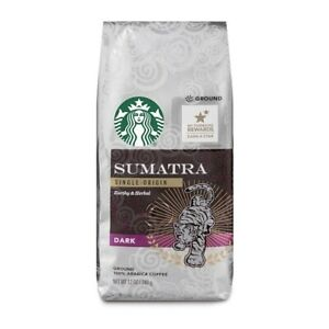 Starbucks Coffee Sumatra Blend Dark Roast Ground Coffee